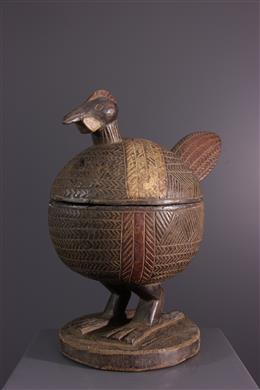African art - Yoruba Zoomorphic Offering Cup