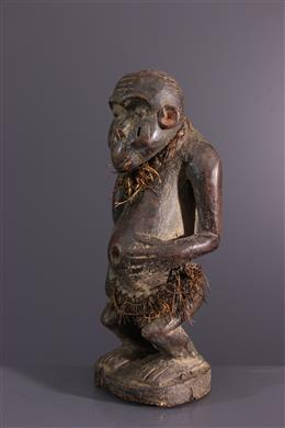 African art - Fetish statuette Bulu, Boulou