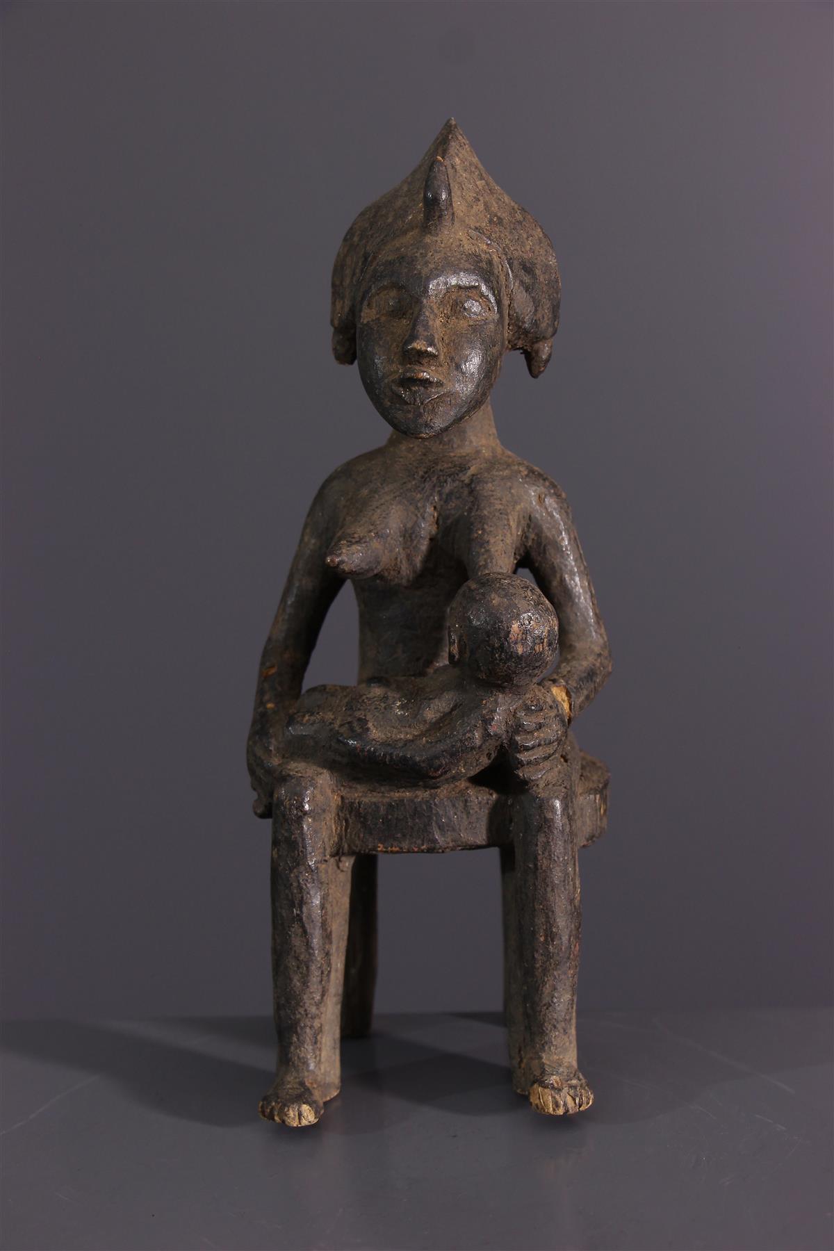 Senufo statuette - African art