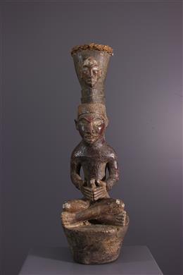 Yombe Drum Statue