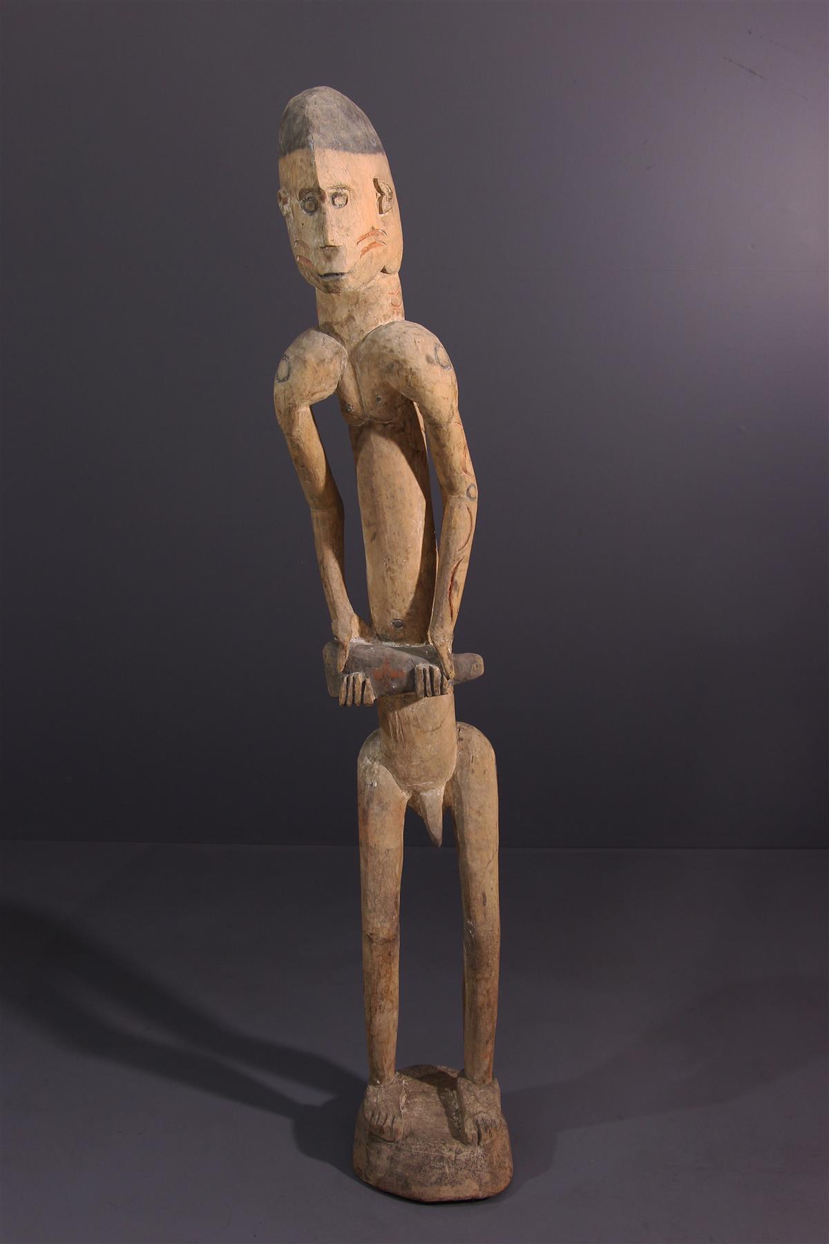 Statue Asmat - African art