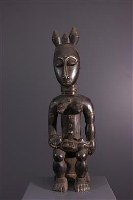 Female figure Nkpasopi Akye or Abe