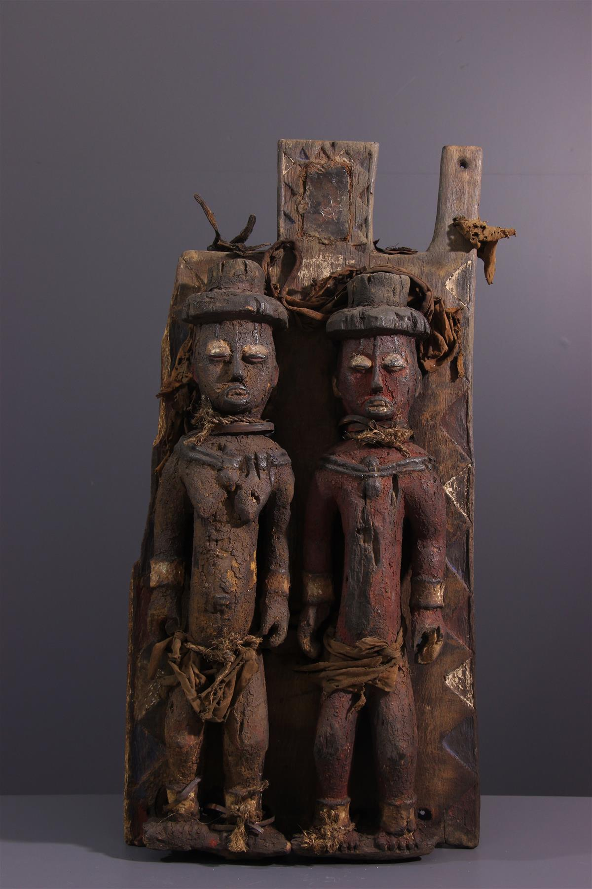 Kalabari screen - African art