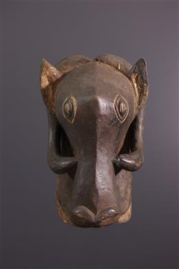 Bemba zoomorphic mask