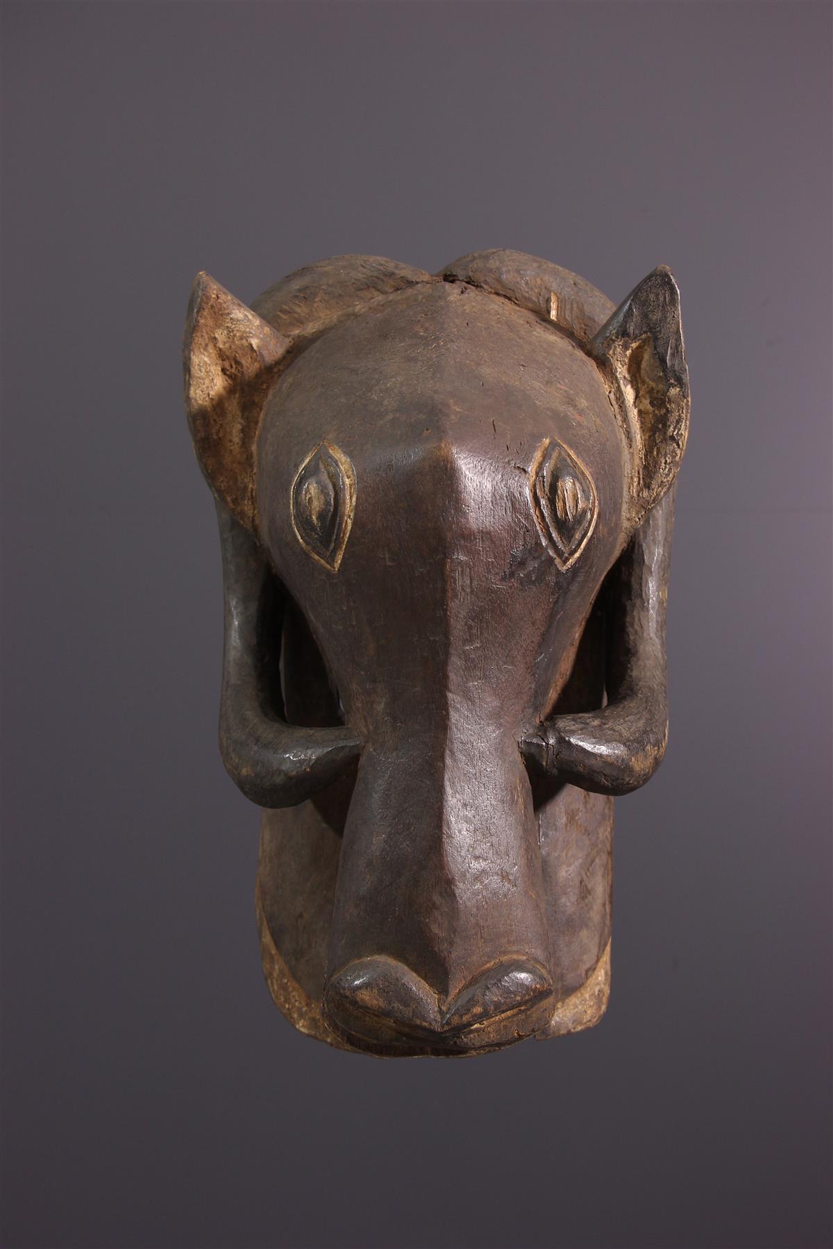 Bemba Mask - African art
