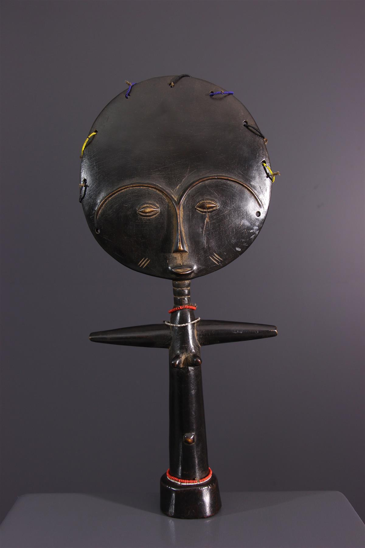 Ashanti doll - African art