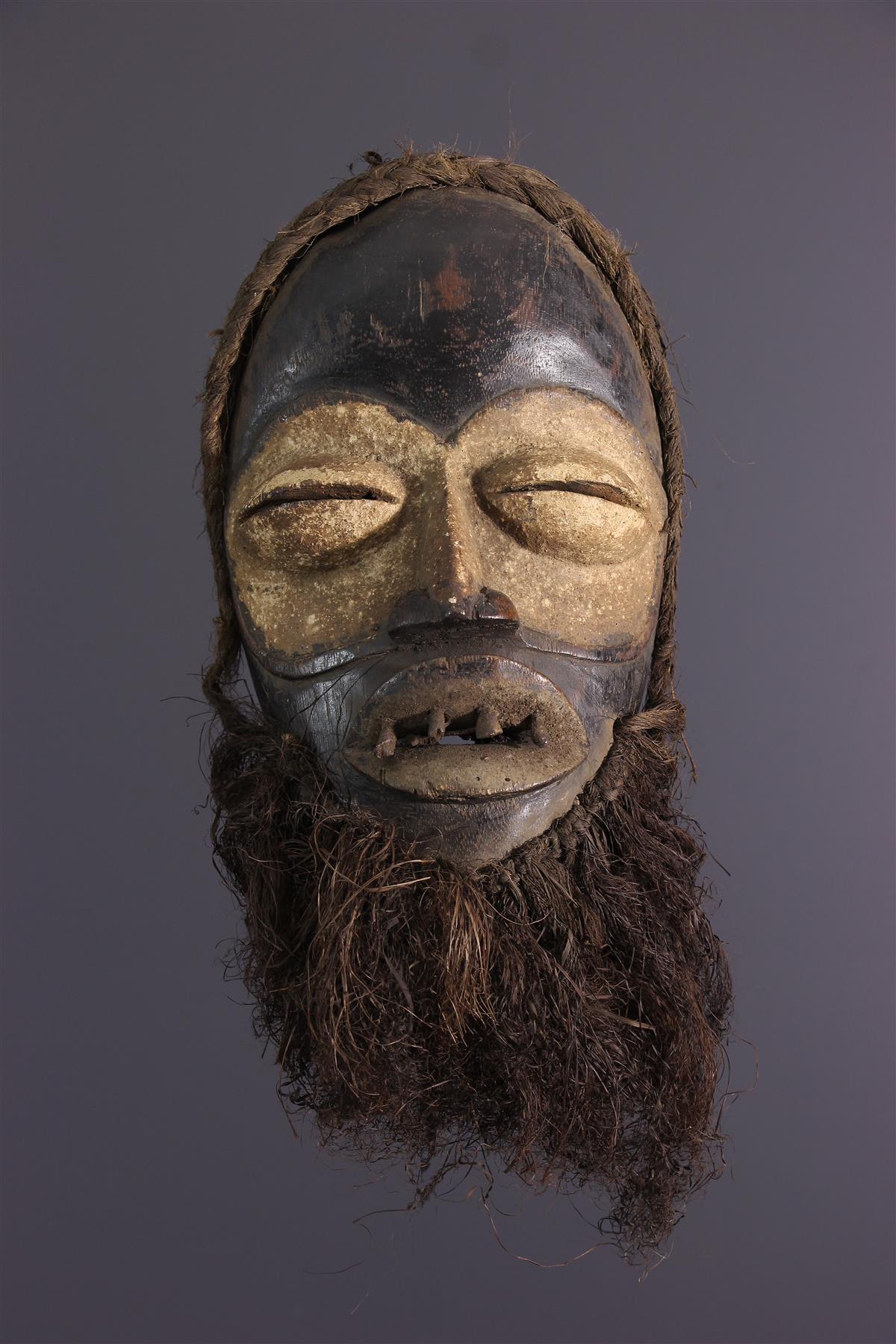 Wobe mask - African art