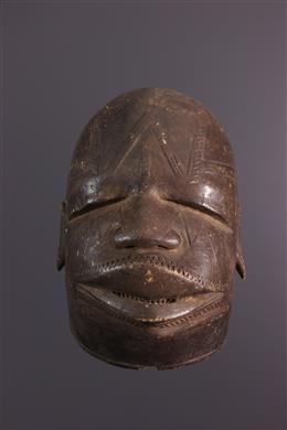 Tanzanian Makonde Lipoko Mask
