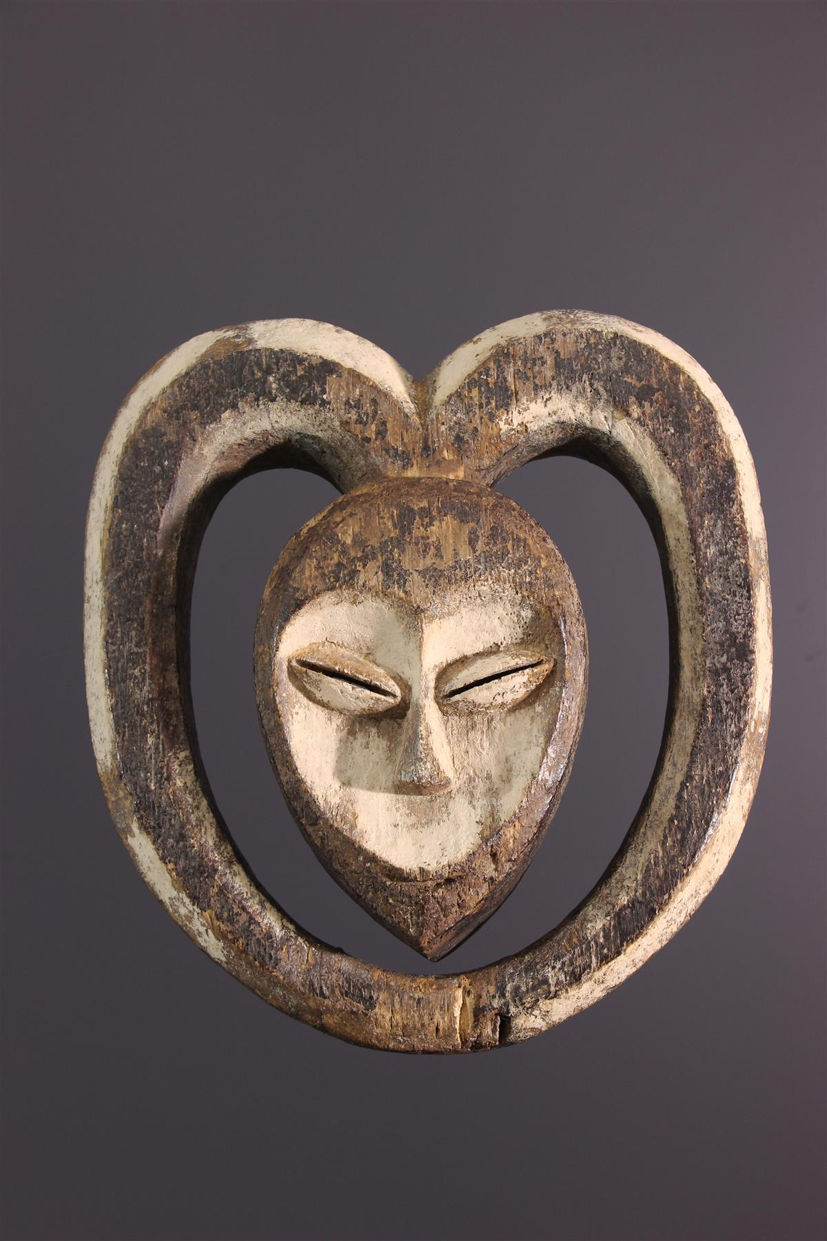 Kwele Mask - African art