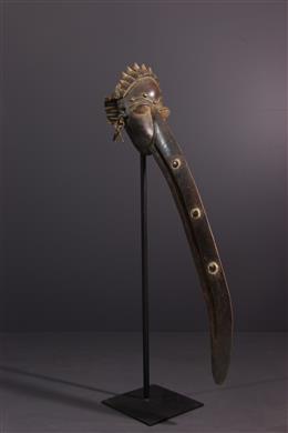 African art - Wé Wobé beak mask