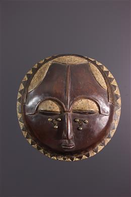 Baoulé/Yohouré Moon Mask