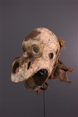 African art - Masque casque Bulu Ngi