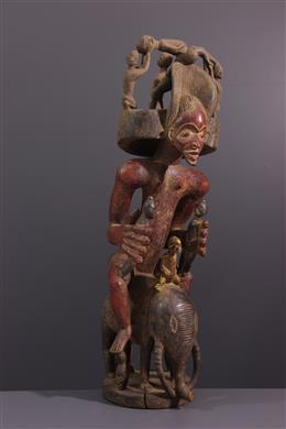 African art - Chokwe Altar Figure