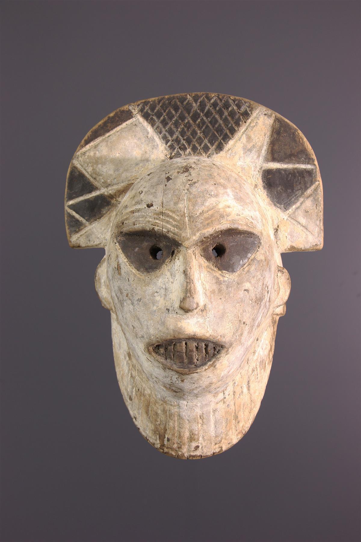 Tetela mask - African art
