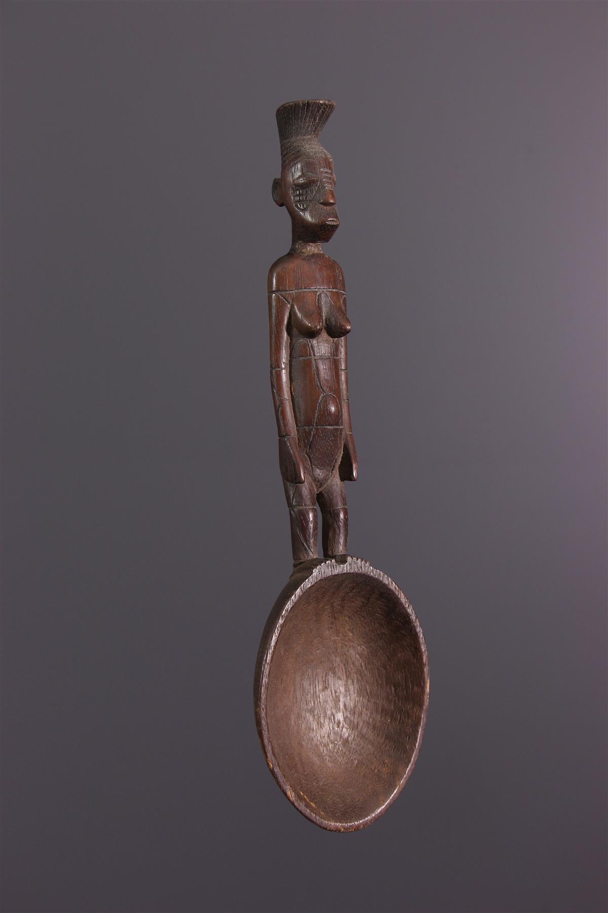 Spoon Mangbetu - African art