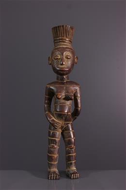 African art - Statuette Mangbetu