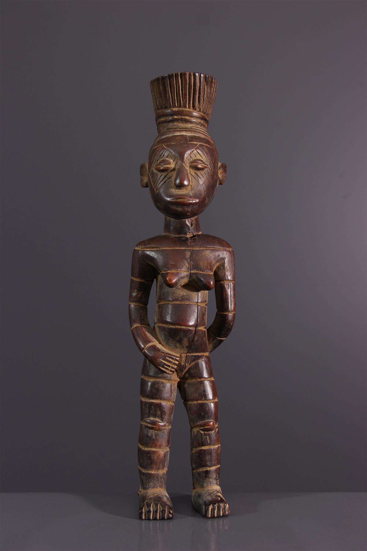 Statuette Mangbetu - African art