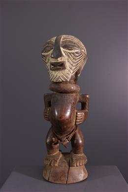 Songye Janiform Fetish Statuette