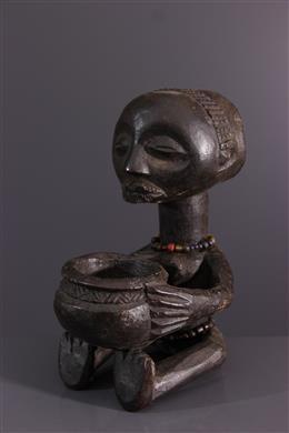 Luba Cup-bearing statuette