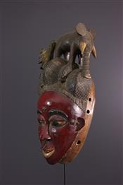 Masque africainZaouli Mask