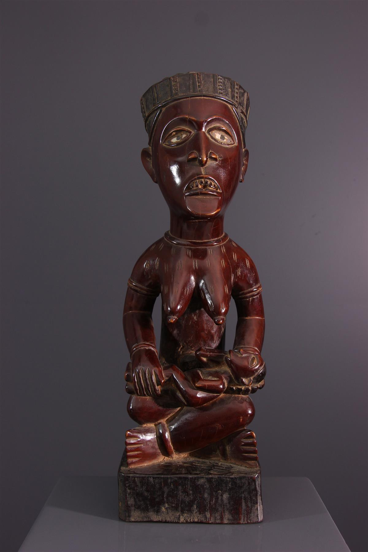 Statue Yombe - African art