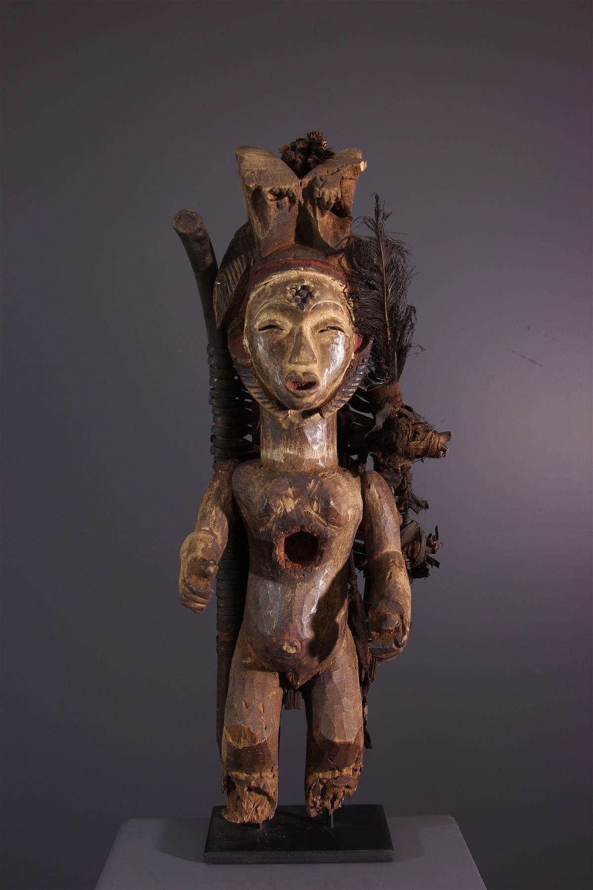 Statue Lumbu - African art