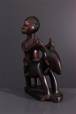 Figure of rider Bembé, Beembé