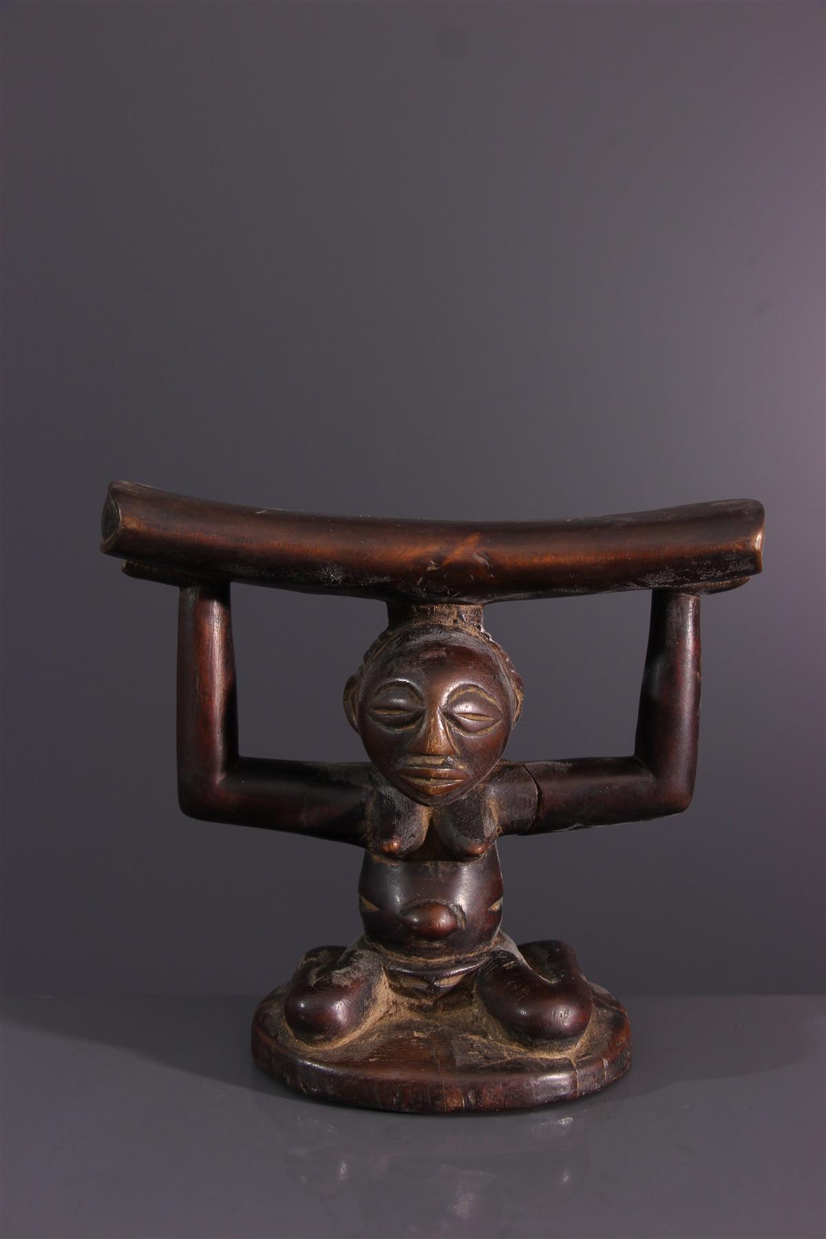 Luba neck press - African art