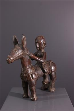 African art - Horseman Bambara