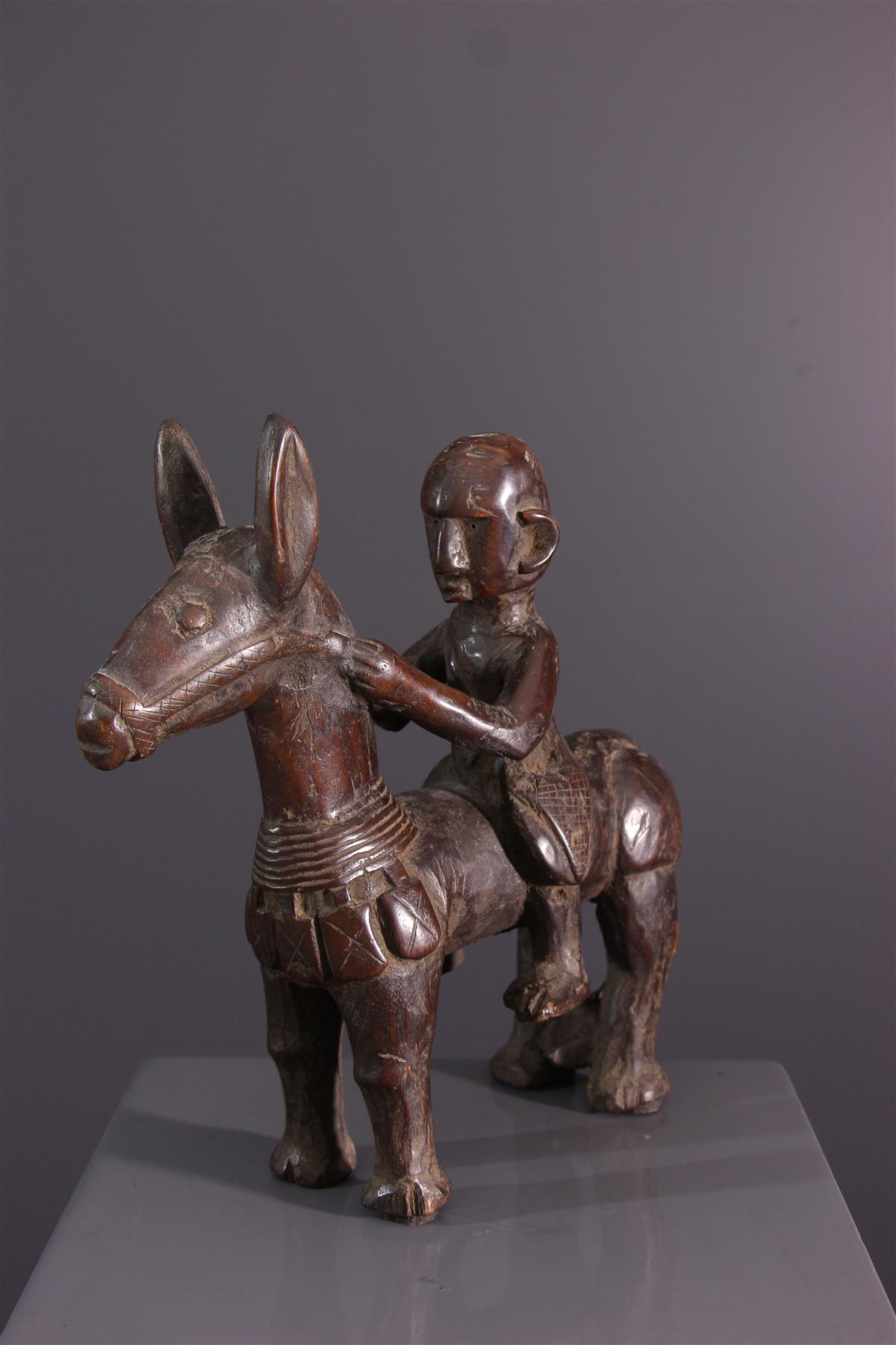 Horseman Bambara - African art