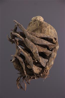 African art - Nyabwa Warrior Mask / Bété Ivory Coast