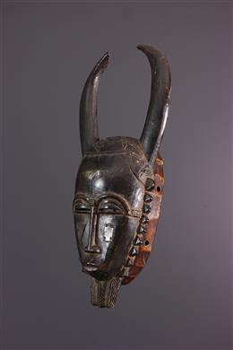 African art - Small Yohoure / Yaouré mask