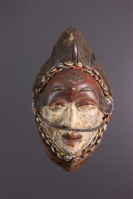 African art - Punu mask of Okuyi dance
