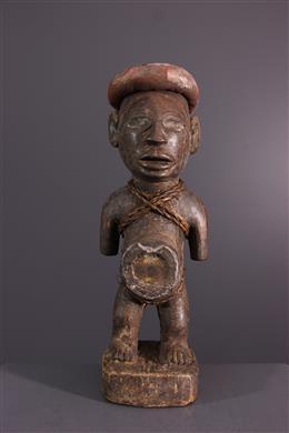 Fetish statuette Nkisi Kongo Vili