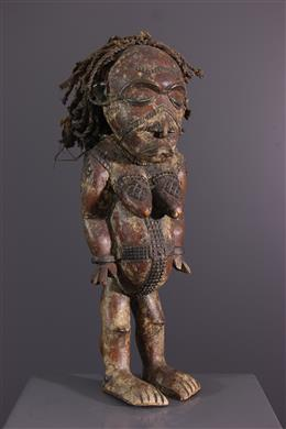 Statue Chokwe Luena, Lwena
