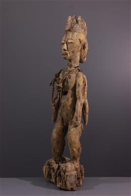 African art - Urhobo janiform reliquary statue