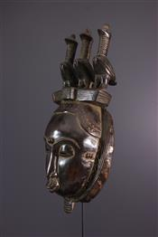 Masque africainYaoure Mask