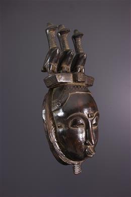 African art - Yohoure Lomane Mask