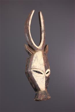 Kwele Ekuk Zoomorphic Mask