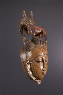 African art - Yaure, Yohoure mask