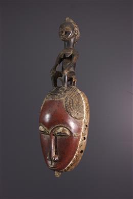 African art - Yaure Yohoure mask Ivory Coast