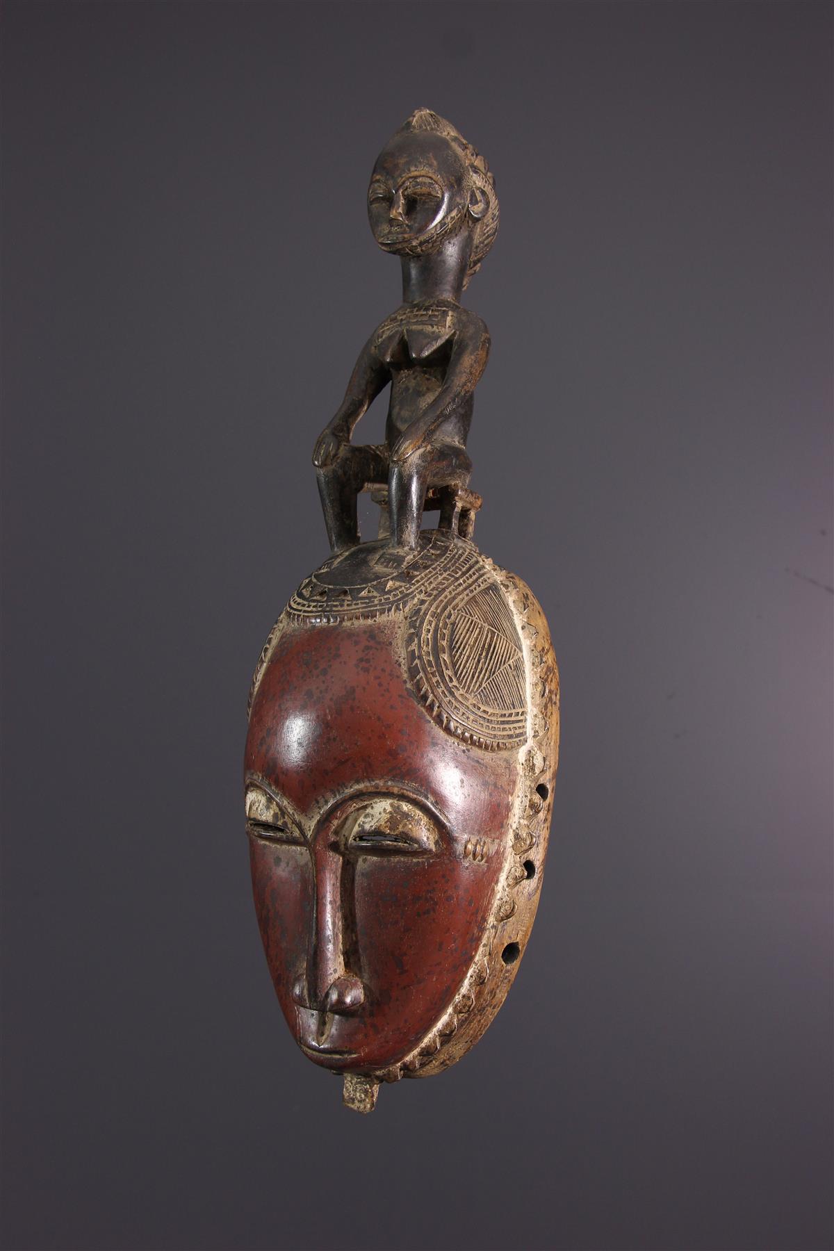 Yaure Yohoure mask Ivory Coast - African art