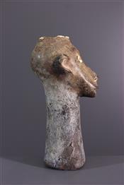 Statues africainesZimba head