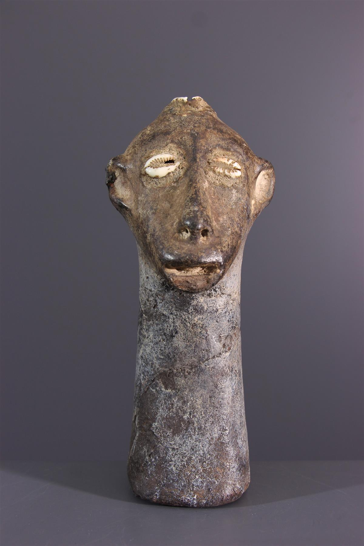 Zimba head - African art