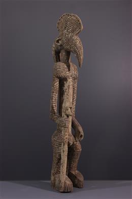 Bobo anthropozoomorphic statue of Mali