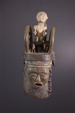 Igbo/Ibibio Heaume Mask