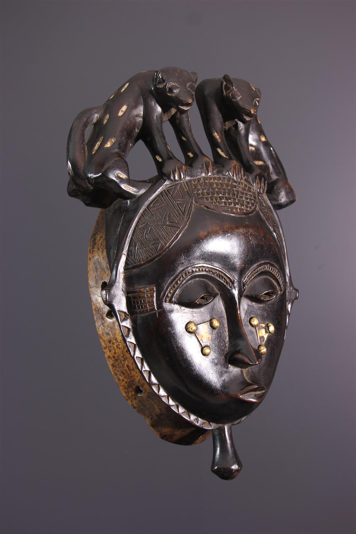 Yaure Mask - African art