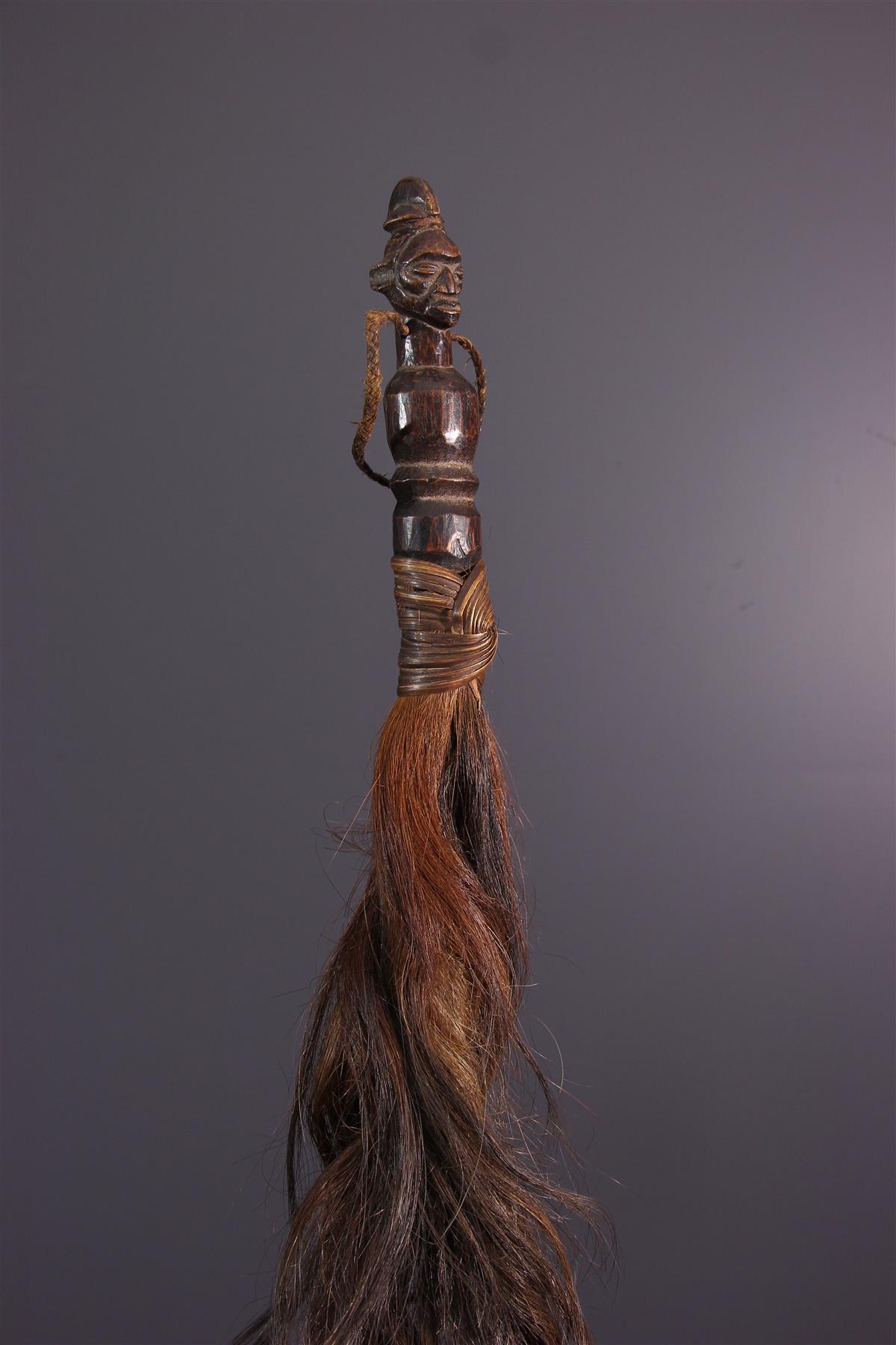 Yaka Fly-Hunting - African art