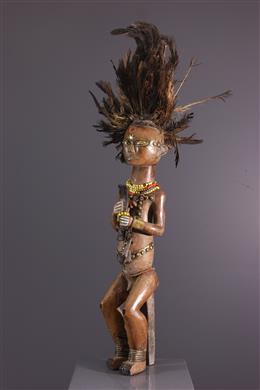 African art - Great figure of reliquary keeper Byeri Fang