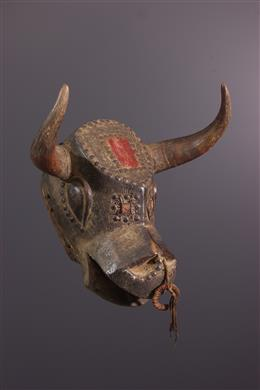 Dugn be Bidjogo Mask from Guinea